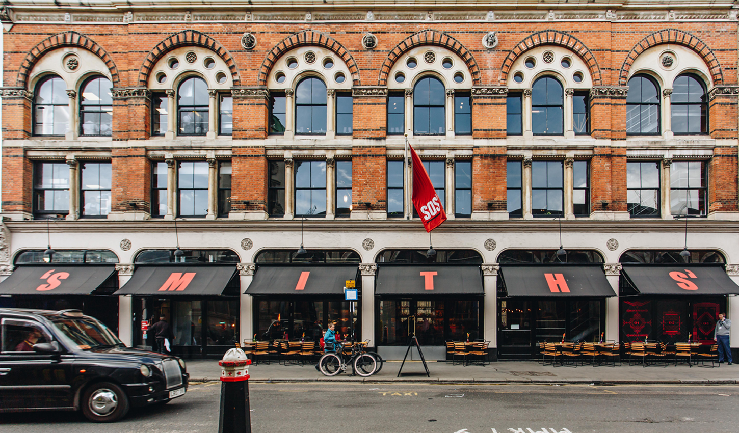 Smiths of Smithfield | 4 floors of the best British food and